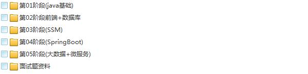 33套Java基础到大牛高薪视频教程,零到架构,Java精讲,框架精讲,高薪进阶,高效编程,全栈Java调优,网络编程,权限框架,微服务,多线程,支付项目实战,OA工作流,日志框架,大厂面试,大型项目实战系列教程插图(3)