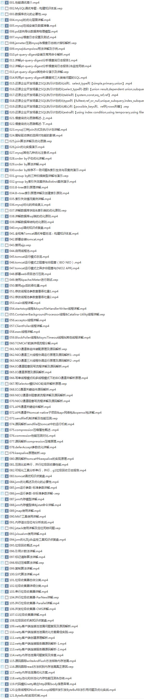 33套Java基础到大牛高薪视频教程,零到架构,Java精讲,框架精讲,高薪进阶,高效编程,全栈Java调优,网络编程,权限框架,微服务,多线程,支付项目实战,OA工作流,日志框架,大厂面试,大型项目实战系列教程插图(20)