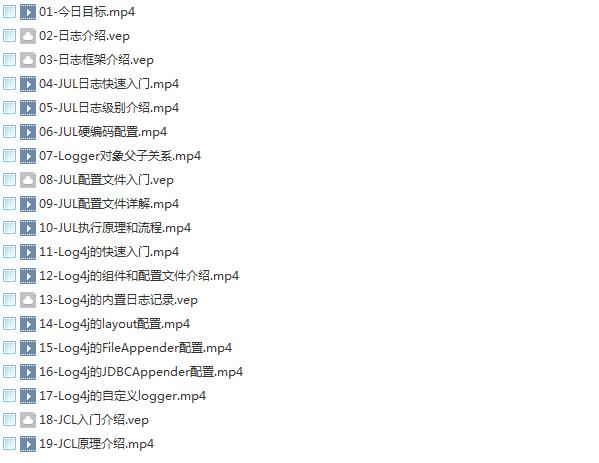 33套Java基础到大牛高薪视频教程,零到架构,Java精讲,框架精讲,高薪进阶,高效编程,全栈Java调优,网络编程,权限框架,微服务,多线程,支付项目实战,OA工作流,日志框架,大厂面试,大型项目实战系列教程插图(36)