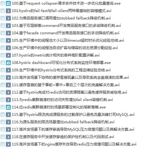 39套Java进阶高级架构师教程_Javaweb项目案例实战编程视频自学培训插图(7)