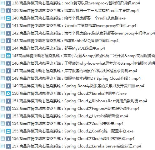 39套Java进阶高级架构师教程_Javaweb项目案例实战编程视频自学培训插图(9)