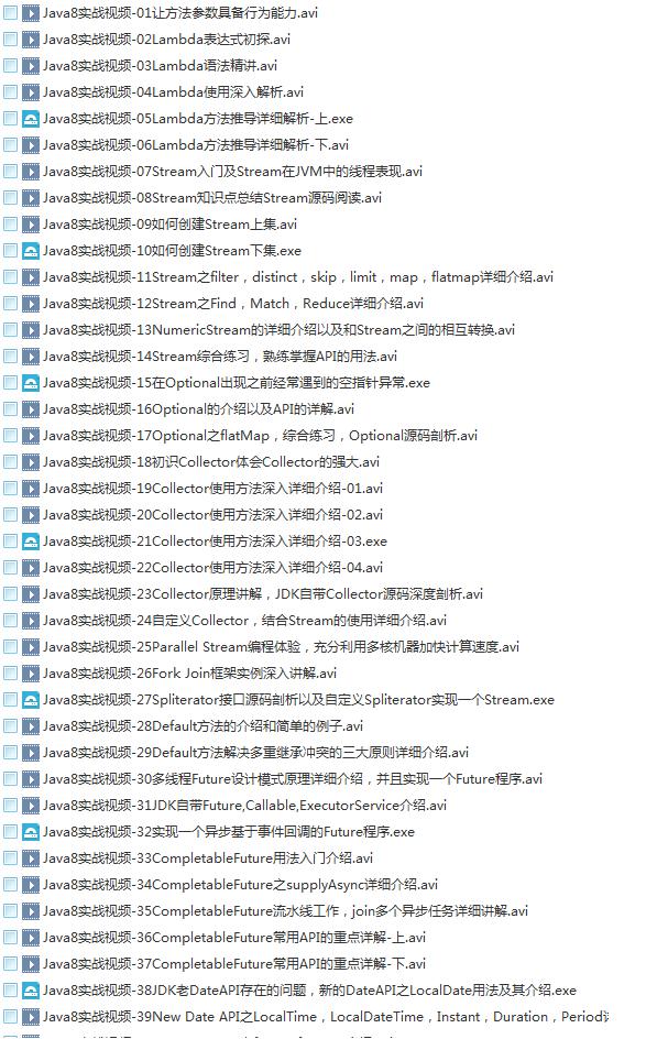 39套Java进阶高级架构师教程_Javaweb项目案例实战编程视频自学培训插图(36)