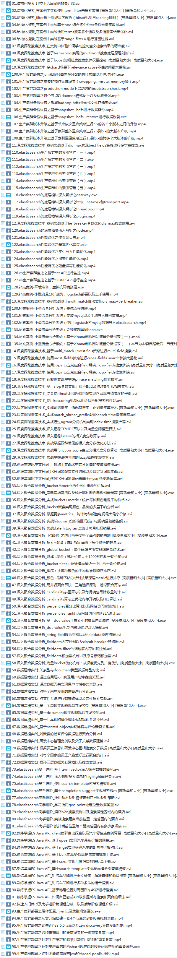 39套Java进阶高级架构师教程_Javaweb项目案例实战编程视频自学培训插图(40)