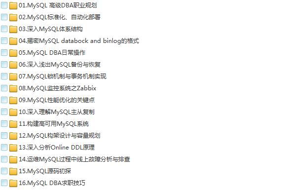 39套Java进阶高级架构师教程_Javaweb项目案例实战编程视频自学培训插图(48)