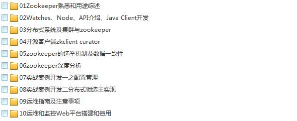 39套Java进阶高级架构师教程_Javaweb项目案例实战编程视频自学培训插图(68)