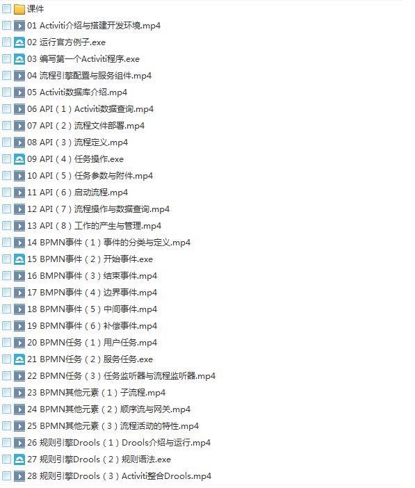 39套Java进阶高级架构师教程_Javaweb项目案例实战编程视频自学培训插图(69)