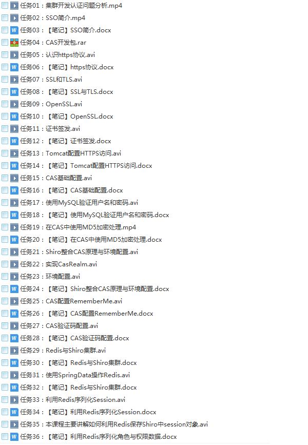 58套java架构师大型分布式企业级项目实战java开发进阶教程学习培训下载插图(37)