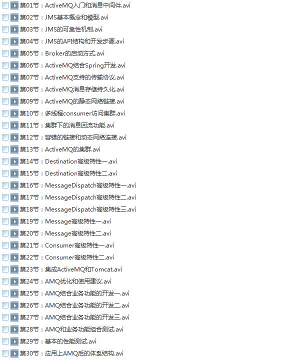 58套java架构师大型分布式企业级项目实战java开发进阶教程学习培训下载插图(39)