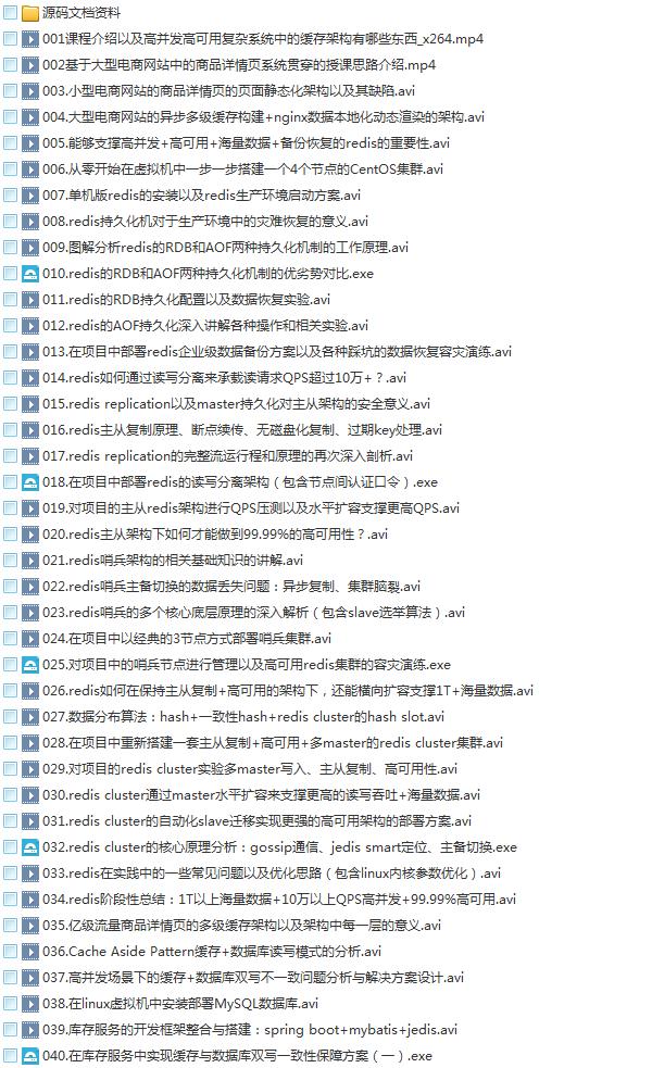 58套java架构师大型分布式企业级项目实战java开发进阶教程学习培训下载插图(4)